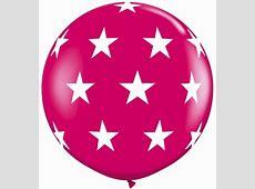 Giant Balloons Perth 3 Foot Balloons Big Star Print