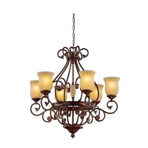 Chandeliers Lighting Collections by Sale Hton Bay Freemont Collection 6 Light Antique