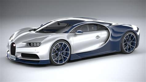 Bugatti veyron w16 engine 3d model 3ds max + lwo xsi 3ds obj: Bugatti Chiron 2020 3D model MAX OBJ 3DS FBX C4D LWO