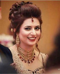Indian wedding hairstyles for Indian Brides Up Dos, Braids, loose curls
