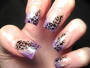 Leopard print nail art designs makeup tips and fashion