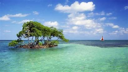 Belize Island Islands Tapety Wallpapers Isla Belice