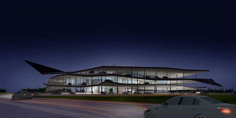 Automobile Museum In Nanjing  3gatti Architecture Studio