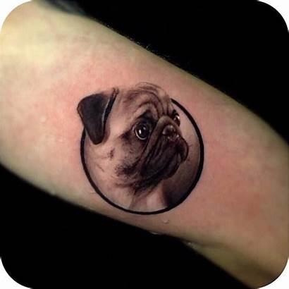 Pug Tattoo Tattoos Dog Ever Face Tatuagem