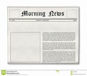 Best Photos of Blank Newspaper Headline - Blank Newspaper ...