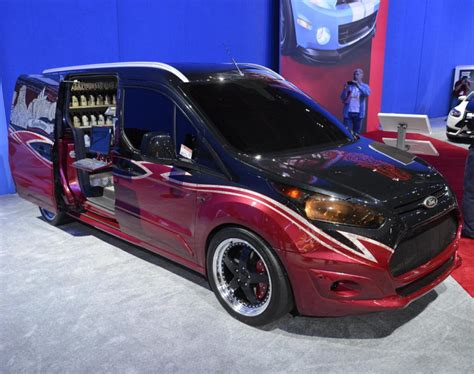 Custom Ford Transit Connect