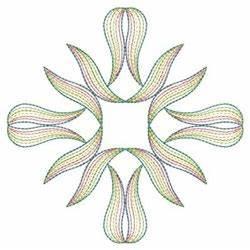 Neon Rippled Diamond Embroidery Designs Machine