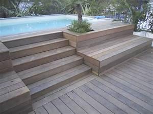 Escalier Pour Piscine Hors Sol : escalier bois piscine hors sol ~ Dailycaller-alerts.com Idées de Décoration