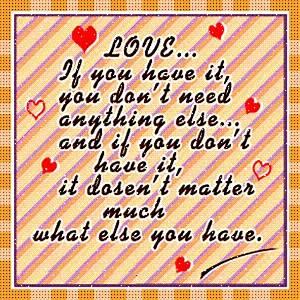 True Love 01: Love Quotes
