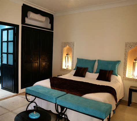 chambre turquoise procurer du confort de la chambre turquoise de riad alboraq