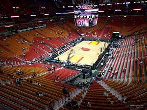 Section 330 At Americanairlines Arena Miami Heat