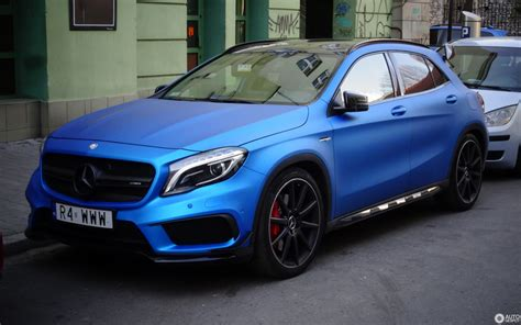 However, the gla 35 is differentiated by a host of specific amg features. Mercedes-Benz GLA 45 AMG X156 - 31 October 2019 - Autogespot