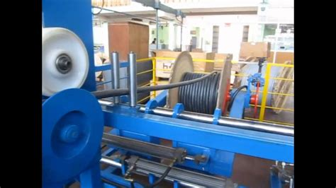 pay  cable winding machine youtube
