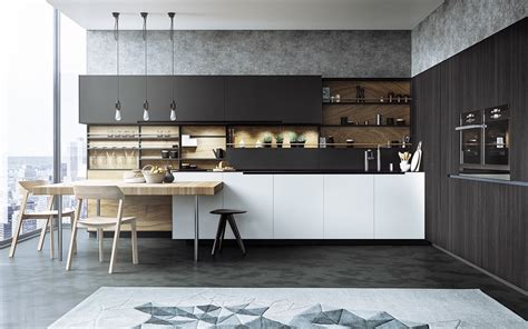 cuisine interiors 20 sleek kitchen designs with a beautiful simplicity