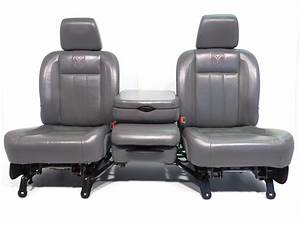 Replacement Dodge Ram Leather Front Seats Laramie 2002