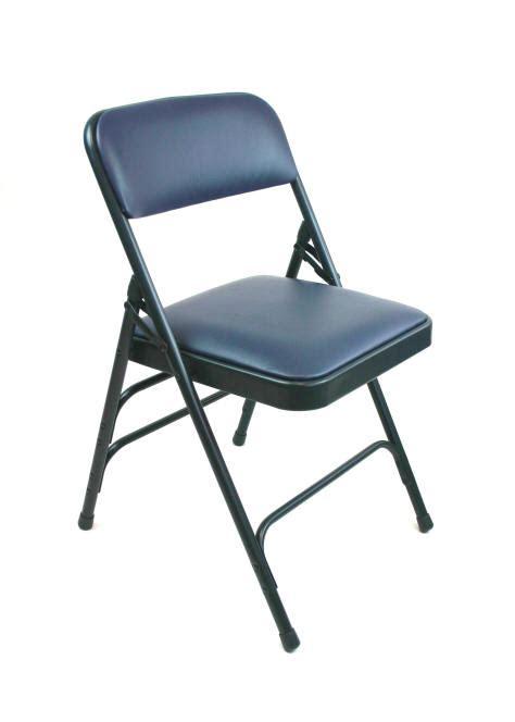 padded folding chairs deluxe vinyl padded folding chair
