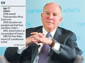 Michael Casey Chairman And Ceo Of Carter S Inc Says That
