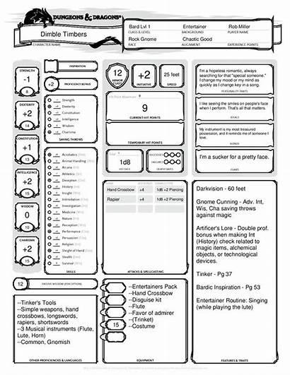 Barbarian Half Orc Dnd Sheet Character Dragons