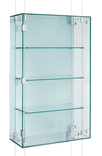 Suspended Glass Display Cabinets Custom Made  Shopkit