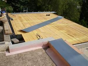 Comment Poser Une Charnière Plate : toiture terrasse en zinc a tasseaux at menuiserie ~ Dailycaller-alerts.com Idées de Décoration