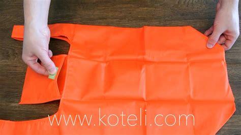 folding  koteli bag reusable shopping bag youtube