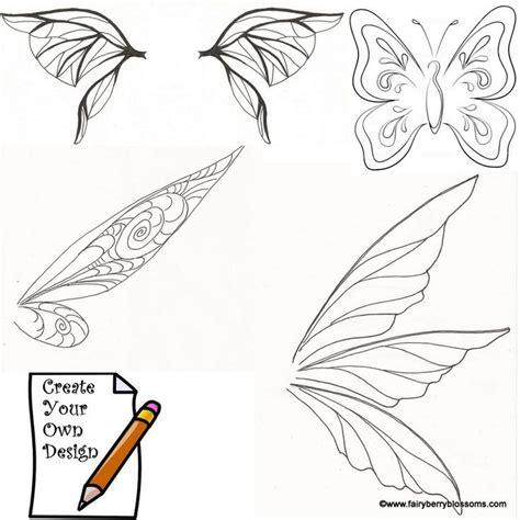 tinkerbell template felt tinkerbell wings template fairy elf pixie things