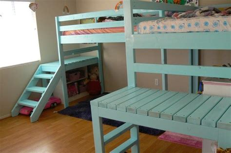 8 Drawer White Dresser by How To Build A Loft Bed With Stairs Diy Projects For