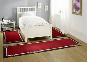 Teppich Rot Grau : design bettumrandung alana kurzflor teppich rot grau bettumrandungen ~ Whattoseeinmadrid.com Haus und Dekorationen