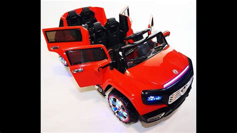 New 4 Doors Battery Operated Ride On Toy Car With Remote