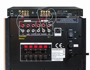 Connections A Laptop To Acoustics Genius Sw