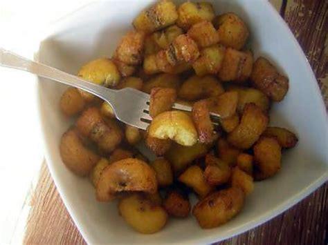 comment cuisiner les bananes plantain comment cuisiner banane plantain
