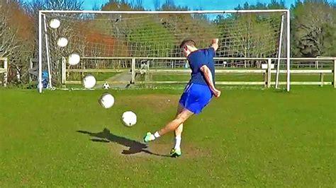 How To Shoot A Rabona Penalty Trickshot Soccer Tutorial