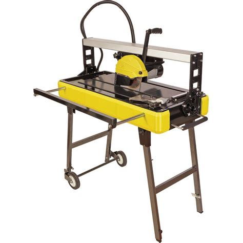 qep tile saw 4 in qep 1 1 3 hp 120 volt 30 in bridge tile saw 83250q