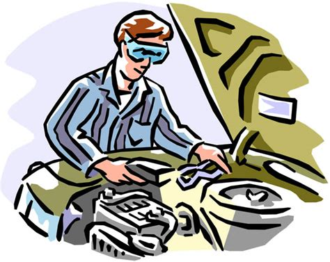 Car Repairs Clip Art Royalty Free Stock