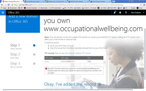 us post office address verification form office 365 domain verification microsoft community