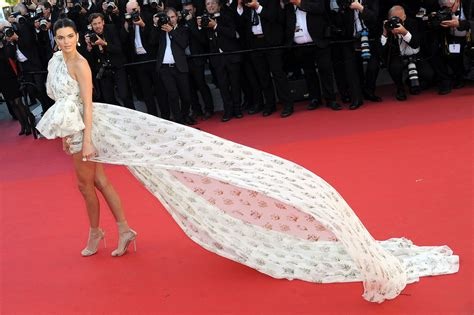 Carpet Choices cannes 2017 kendall jenner walks red carpet in minidress