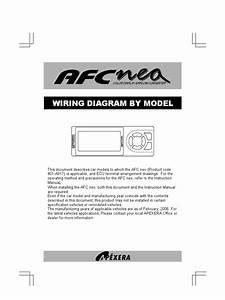 Apexi Integration Installation Manual  Afc Nea Color