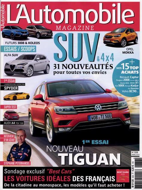 l automobile magazine l automobile magazine n 176 838 abonnement l automobile magazine abonnement magazine par