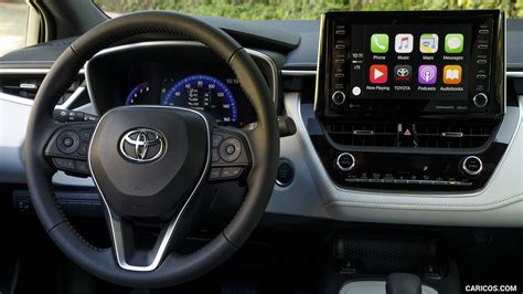 toyota corolla hatchback interior detail hd
