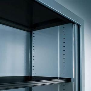 Armoire De Bureau Métallique : armoire haute rideaux gc uni lemondedubureau ~ Melissatoandfro.com Idées de Décoration