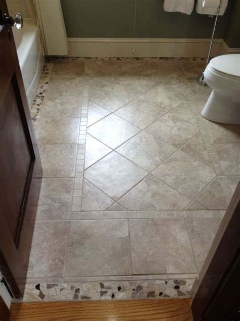 tile flooring layout floor tile design floors pinterest