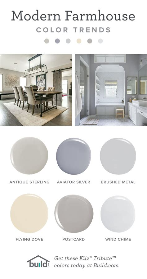 modern farmhouse paint colors by kilz your home