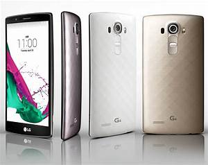 The Lg G4 Is A Leather