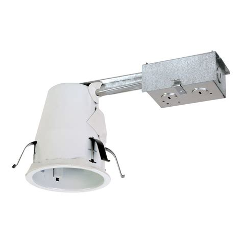 halo recessed lighting installation halo e26 4 in steel recessed lighting housing for remodel
