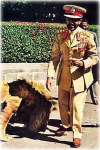 H.I.M. Haile Selassie I, and his LionsArt and design ...
