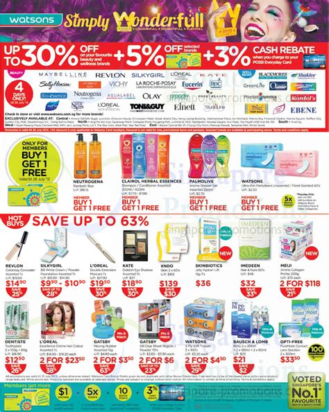 Up To 30 Percent Off Selected Brands, Health N Beauty