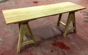 Alnwick Castle Trestle Tables - C T Hollins Bespoke