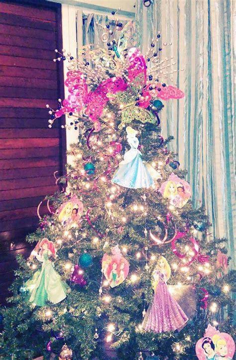 disney princess christmas tree navidad disney