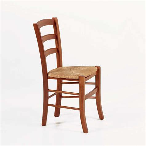 chaises de cuisine en bois chaise rustique en bois et paille brocéliande 4 pieds