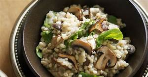 Pilz Rezepte Vegetarisch : graupen pilz risotto rezept eat smarter ~ Lizthompson.info Haus und Dekorationen